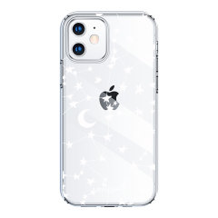 Take your iPhone 12 Max to the next level with this  White Stars and Moons phone case from LoveCases. Cute but protective, the ultra-thin case provides slim fitting and durable protection against life's little accidents.