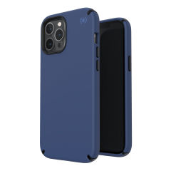 The Presidio2 Pro is a stylish coastal blue iPhone 12 Pro case that provides premium protection against drops and scratches. This case is lightweight and slim making it convenient, as well as sophisticated with a premium style.