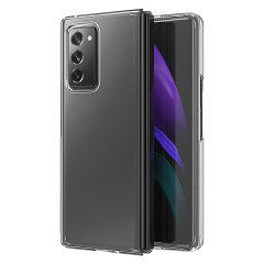 Custom moulded for the Samsung Galaxy Z Fold 2 5G. This ultra clear protective case provides a slim fitting stylish design and reinforced corner shock protection against damage, keeping your device looking great at all times.