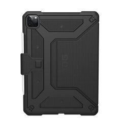 "Protect your new iPad Air 4 2020, 10.9"" with this featherlight, sleek, black UAG Metropolis Case. This stunning case has an adjustable stand for watching movies, an Apple pencil holder and offers 360 degree protection from lifes little accidents."