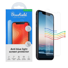 Protect your iPhone 12 mini from drops and scratches with this medically accredited, tempered glass screen protector from Ocushield. Rest assured in its anti-bacterial technology against surface bacteria, and anti-blue light to prevent eye strain.