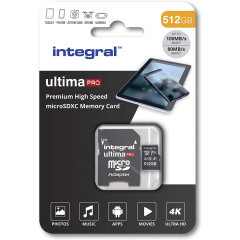 Integral 512GB Micro SDXC High-Speed Memory Card - Class 10