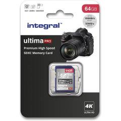 Integral 64GB Micro SDXC High-Speed Memory Card - Class 10