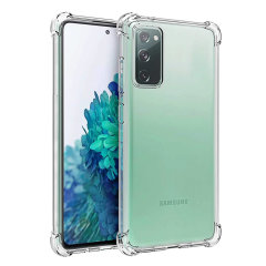 Custom moulded for your Galaxy S20 Fan Edition / FE 5G, this 100% clear Ultra-Thin case provides slim fitting anti-shock protection against drops. This case allows access to all ports and is crystal clear allowing you to showcase the original S20 design.