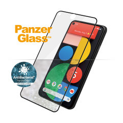 Introducing the PanzerGlass glass case friendly screen protector. Designed to be shock resistant and scratch resistant, PanzerGlass offers ultimate protection for your Google Pixel 5 display.