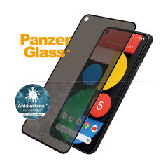 Introducing the PanzerGlass glass case friendly screen protector with privacy filter. Designed to be shock resistant and scratch resistant, PanzerGlass offers ultimate protection for your Google Pixel 5 display.