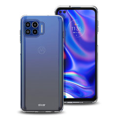 Custom moulded for the Motorola One G 5G Plus, this 100% clear Ultra-Thin case by Olixar provides slim fitting and durable protection against damage
