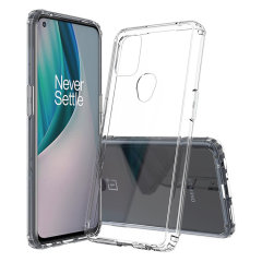 Olixar Exoshield OnePlus Nord N10 5G Protective Case - Clear