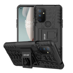 Protect your Oneplus Nord N100 from bumps and scrapes with this black ArmourDillo case. Comprised of an inner TPU case and an outer impact-resistant exoskeleton, the Armourdillo not only offers sturdy and robust protection, but also a sleek modern styling