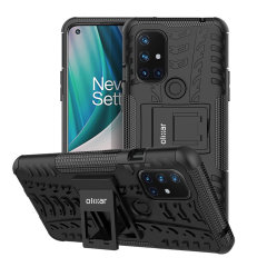 Protect your Oneplus N10 5G from bumps and scrapes with this black ArmourDillo case. Comprised of an inner TPU case and an outer impact-resistant exoskeleton, the Armourdillo not only offers sturdy and robust protection, but also a sleek modern styling.