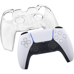 Olixar PS5 Controller Protective Crystal Case - Clear