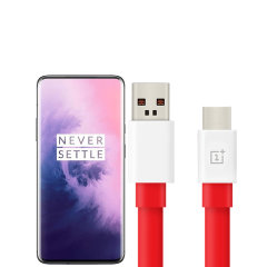 Perfect for charging and syncing across files, this official OnePlus 7 Pro USB C to USB A cable provides blistering charge and transfer speeds. It also supports up to 3 Amps of power, more than enough for fast charging.