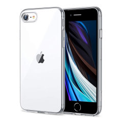 Custom moulded for your iPhone SE 2020, this 100% clear Ultra-Thin case provides slim fitting anti-shock protection against drops. This case allows access to all ports and is crystal clear allowing you to showcase the original iPhone SE design.