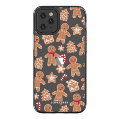 Give your iPhone 12 Pro Max a festive new look with this Christmas gingerbread phone case from LoveCases. Cute but protective, the ultra-thin case provides slim fitting and durable protection against life's little accidents.