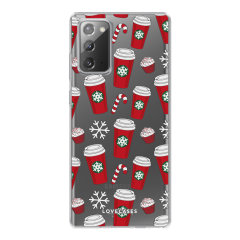 LoveCases Samsung Galaxy Note 20 Gel Case - Christmas Red Cups
