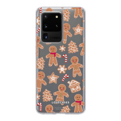 LoveCases Samsung Galaxy S20 Ultra Gel Case - Christmas Gingerbread