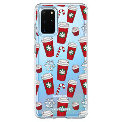 LoveCases Samsung Galaxy S20 Plus Gel Case - Christmas Red Cups