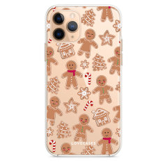 Give your iPhone 11 Pro a festive new look with this Christmas gingerbread phone case from LoveCases. The protective and ultra-thin case provides slim fitting and durable protection against life's little accidents.