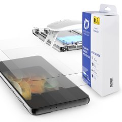 Whitestone Dome Samsung Galaxy S21 Full Cover Screen Protector 2-Pack