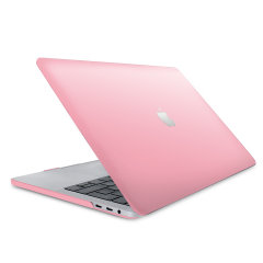 """The ToughGuard Hard Shell Case in pink gives your Macbook Pro 13"""" 2018 the protection it needs without adding any unnecessary bulk. Get scratch and drop protection, while adding a touch of style to your MacBook Pro."""