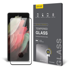 Olixar Samsung Galaxy S21 Ultra Tempered Glass Screen Protector