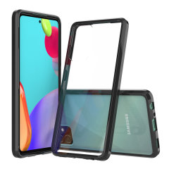 Custom moulded for the Samsung Galaxy A52 5G. This black Olixar ExoShield tough case provides a slim fitting stylish design and reinforced corner shock protection against damage, keeping your device looking great at all times.