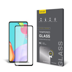 Olixar Samsung Galaxy A52 Tempered Glass Screen Protector
