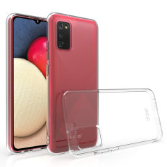 Custom moulded for the Samsung Galaxy A02s, this 100% clear Flexishield case by Olixar provides slim fitting and durable protection against damage while adding next to nothing in size and weight.