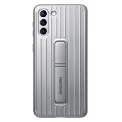 Official Samsung Galaxy S21 Plus Protective Standing Case - Grey