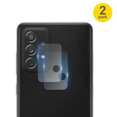 Olixar Samsung Galaxy A72 Camera Protectors - Twin Pack