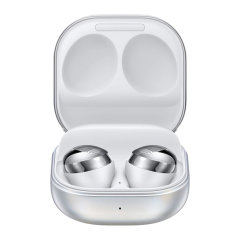 Samsung brings you the next generation of cutting edge technology with the Galaxy Buds Pro in cool silver! Featuring ANC & 360 surround sound just to name a few, the wireless Galaxy Buds Pro can truly be music to your ears with the power to play your way!