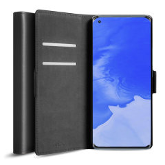 Olixar Genuine Leather Xiaomi Mi 11 Wallet Case - Black