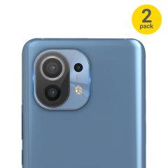 Olixar Xiaomi Mi 11 Camera Protectors - Twin Pack