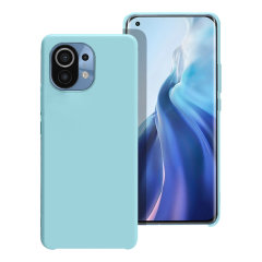 Olixar Soft Silicone Xiaomi Mi 11 Case - Pastel Blue
