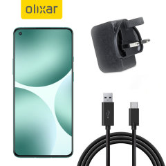 Olixar High Power OnePlus 9 Charger And 1m USB-C Cable - Black