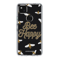 LoveCases Google Pixel 5a Gel Case - Bee Happy