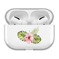 Lovecases AirPods Pro 2 Protective Clear Case - Floral Leaf