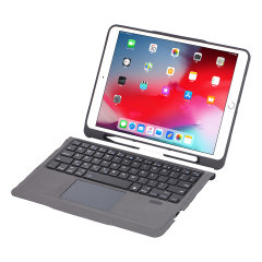4Smarts iPad 10.2 Inch Case & QWERTY Keyboard W/ Trackpad & Pen Holder