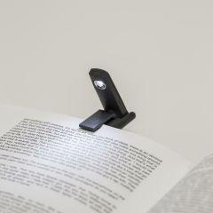Kikkerland Mini Foldable LED Book Light - Black