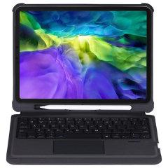 """4Smarts iPad Pro 11"""" 2018 1st Gen. Keyboard Case W/ Pen Holder - Black"""