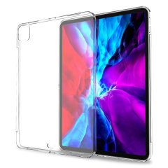 "Olixar Flexishield iPad Pro 12.9"" 2020 4th Gen. Ultra-Thin Case- Clear"