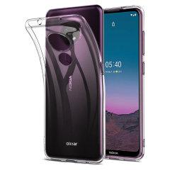 Olixar Ultra-Thin Nokia 5.4 Case - 100% Clear