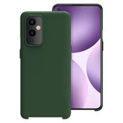 Olixar Oneplus 9 Soft Silicone Case - Green