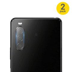 Olixar Sony Xperia 10 III Tempered Glass Camera Protectors - Twin Pack