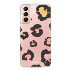 LoveCases Samsung Galaxy S21 FE Gel Case - Colourful Leopard