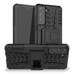 Olixar ArmourDillo Samsung Galaxy S21 FE Protective Case - Black