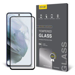 Olixar Samsung Galaxy S21 FE Tempered Glass Screen Protector - Clear