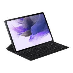 Official Samsung Galaxy Tab S7 FE QWERTY Keyboard Case - Black