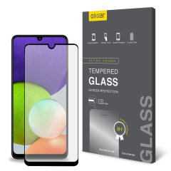 Olixar Samsung Galaxy A22 4G Tempered Glass Screen Protector