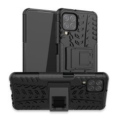 Olixar Armourdillo Samsung Galaxy A22 4G Protective Case - Black